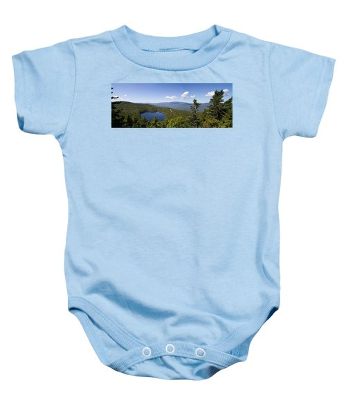 Loon Mountain Baby Onesie