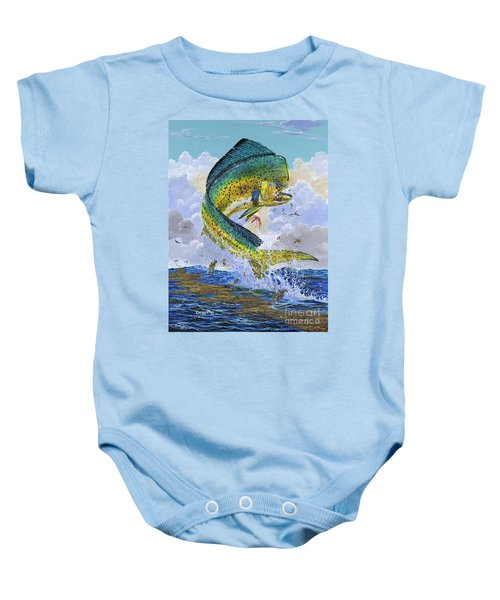 Mahi Hookup Off0020 Baby Onesie by Carey Chen