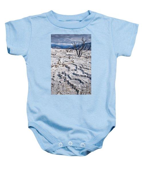 Mammoth Terraces Vertical Baby Onesie