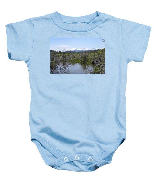 Lake Manitou Sp Woodland Park Co Baby Onesie
