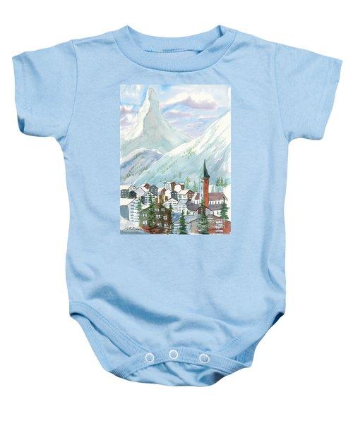 Matterhorn Baby Onesie