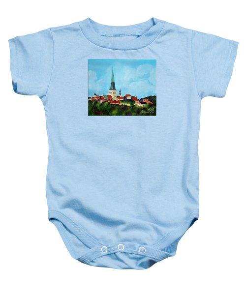 Medieval Tallinn Baby Onesie