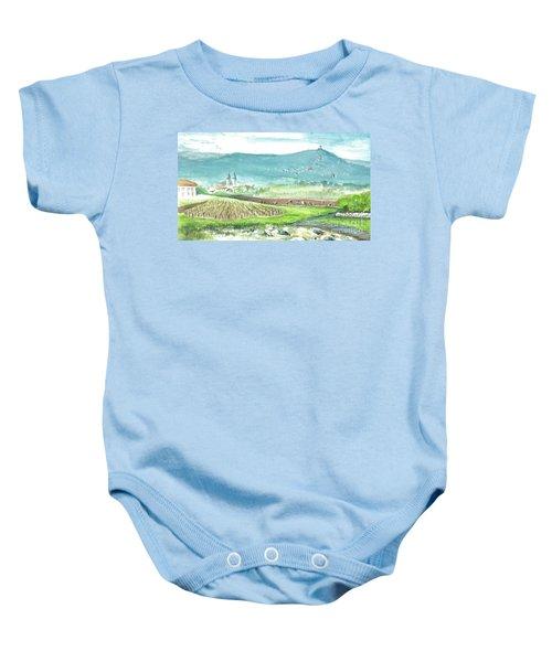 Medjugorje Fields Baby Onesie