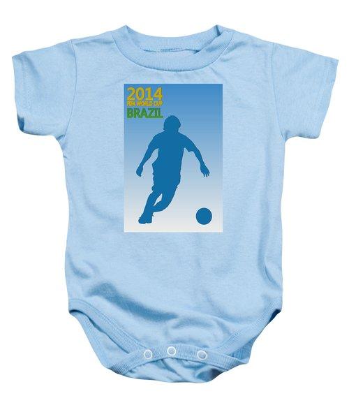 Messi Argentina World Cup Baby Onesie