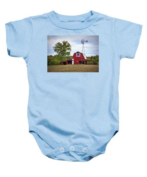 Missouri Star Quilt Barn Baby Onesie