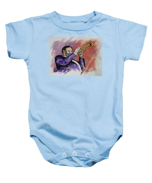 Mister Too Many Notes Baby Onesie