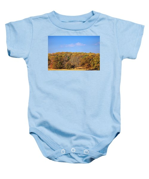 Mixed Fall Baby Onesie