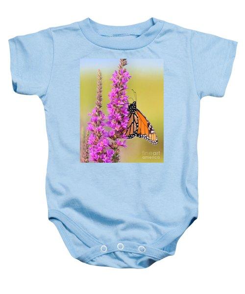 Monarch Butterfly Baby Onesie