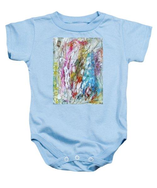 Monet's Garden Baby Onesie