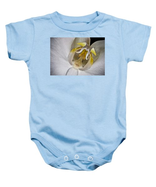 Moth Orchid Inverted Baby Onesie