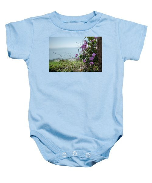 Mount Of Beatitudes Baby Onesie