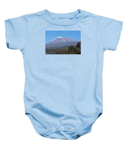 Mt Kilimanjaro  Baby Onesie