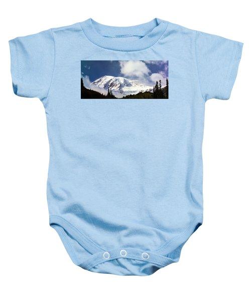 Mt Rainier II Baby Onesie