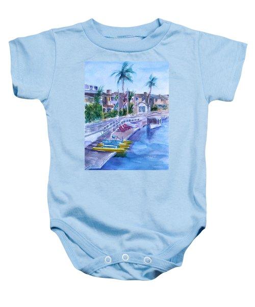 Naples Fun Baby Onesie