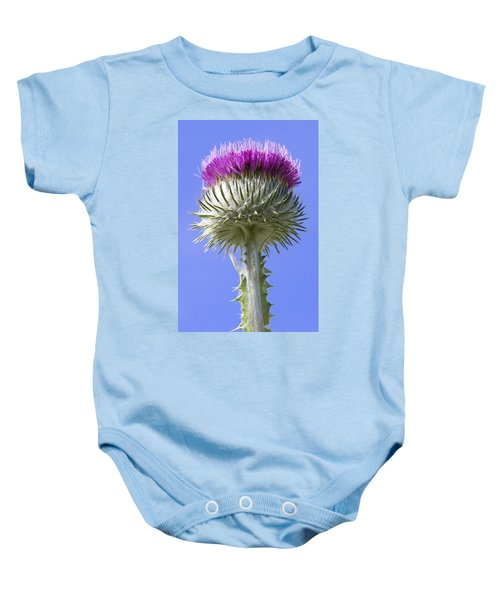 National Flower Of Scotland Baby Onesie