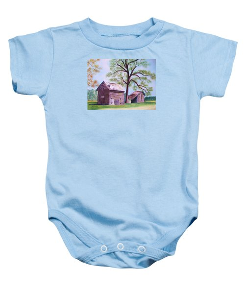 Nc Tobacco Barns Baby Onesie