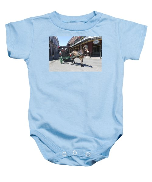 Carriage Ride In New Orleans 21 Baby Onesie