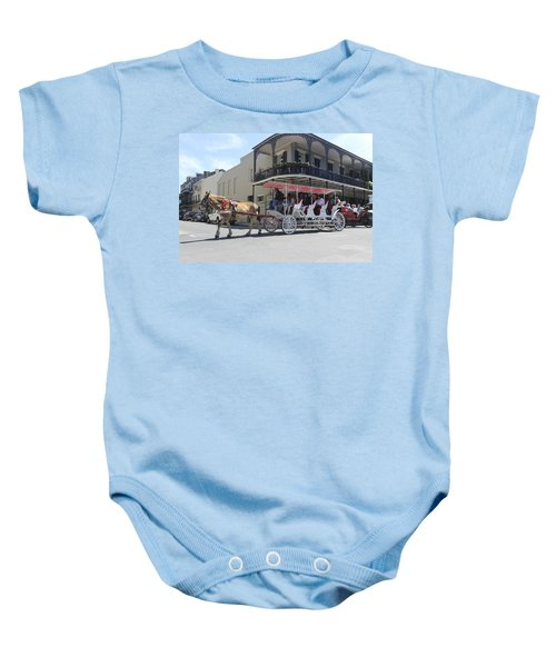 Carriage Ride In New Orleans 22 Baby Onesie