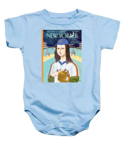 New Yorker June 3rd, 1991 Baby Onesie