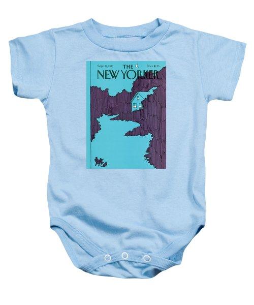 New Yorker September 21st, 1981 Baby Onesie
