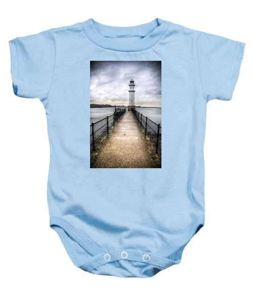 Newhaven Lighthouse Baby Onesie
