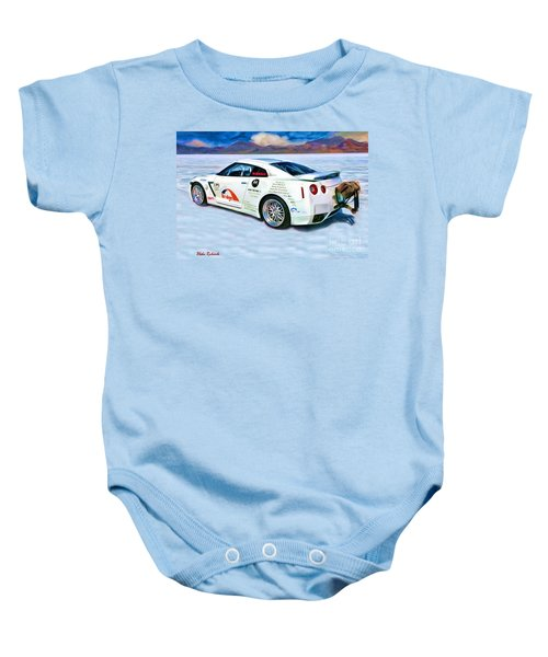 Nissan Salt Flats Baby Onesie