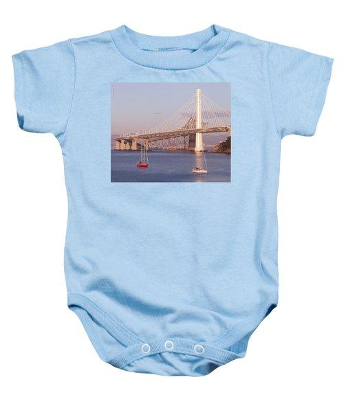 Oakland Bridge Baby Onesie