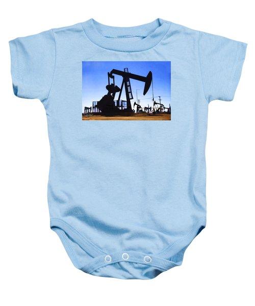 Oil Fields Baby Onesie