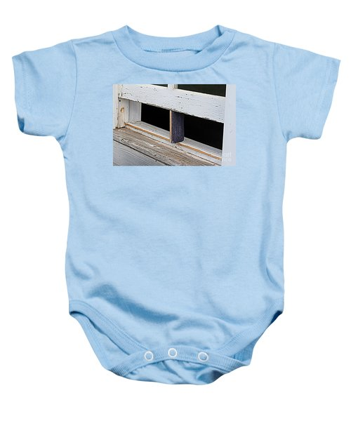Old Fashioned Air Conditioning Baby Onesie
