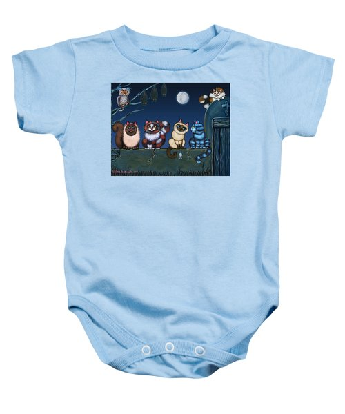 On An Adobe Wall Baby Onesie