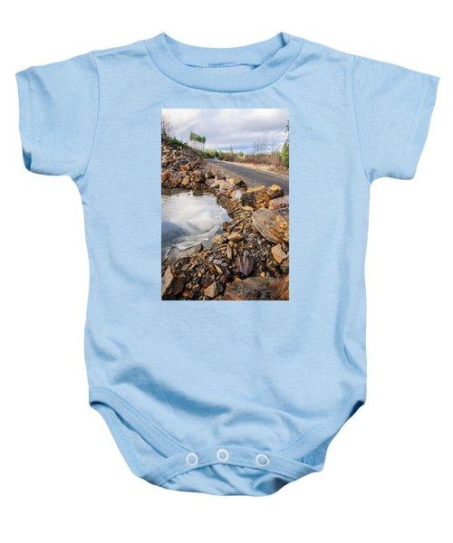 On Frozen Pond Collection 6 Baby Onesie