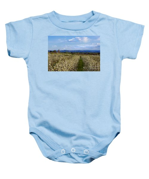 Orchard Country Spring Baby Onesie