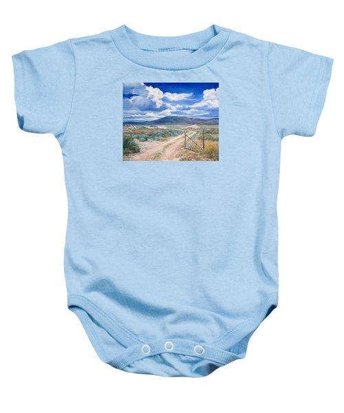 Osceola Nevada Ghost Town Baby Onesie