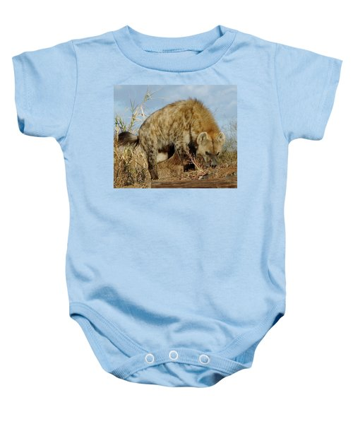 Out Of Africa Hyena 1 Baby Onesie