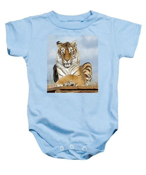 Out Of Africa Tiger 3 Baby Onesie