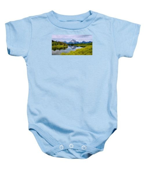 Oxbow Summer Baby Onesie by Chad Dutson