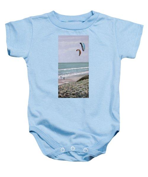 Papamoa Beach 090208 Baby Onesie