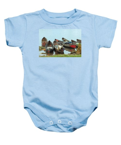 Parking Boats Baby Onesie