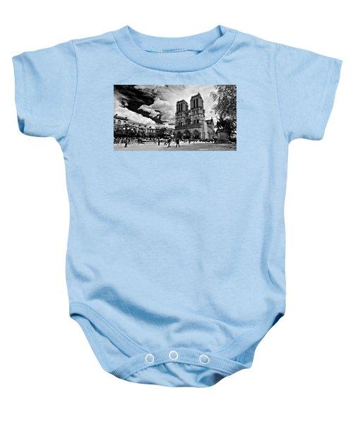 Parvis Notre Dame / Paris Baby Onesie