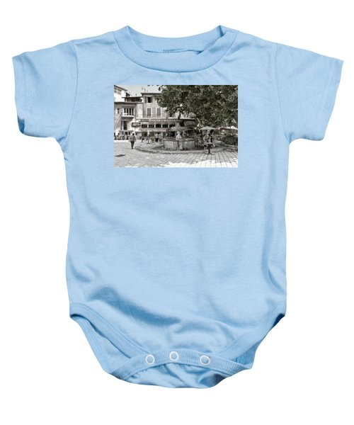 People On The Square Baby Onesie
