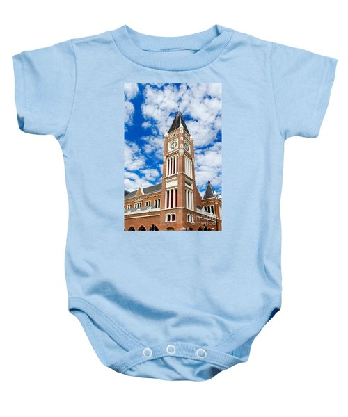 Perth Town Hall Baby Onesie