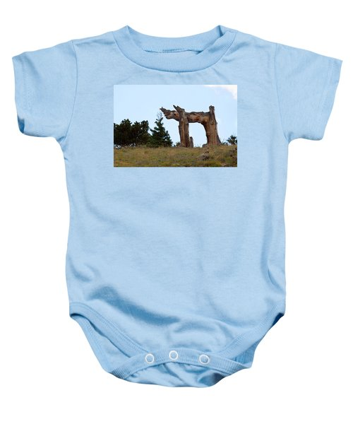 Pi In The Sky Baby Onesie