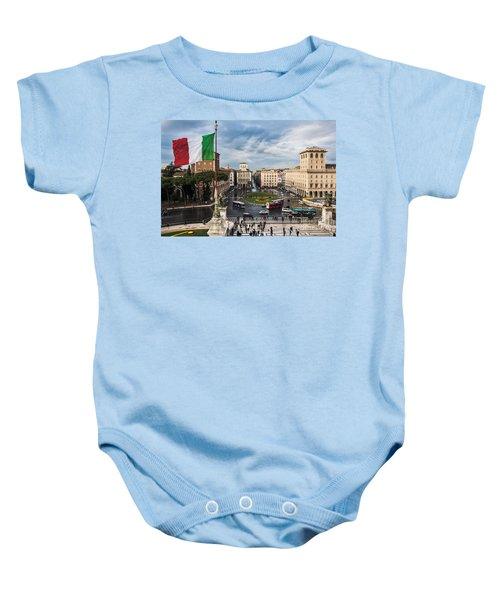 Piazza Venezia Baby Onesie