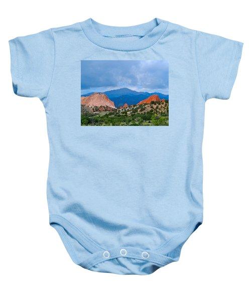 Pikes Peak Baby Onesie