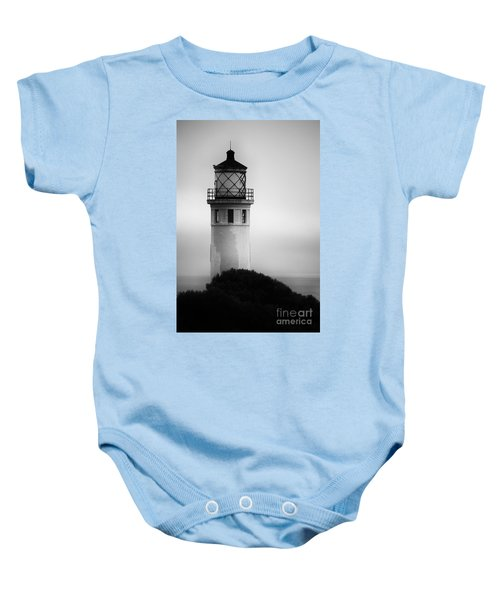 Pointe Vincente Lighthouse Baby Onesie