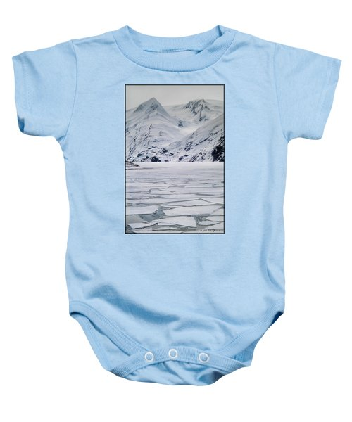 Portage Lake Baby Onesie