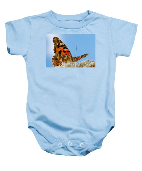 Portrait Of A Butterfly Baby Onesie