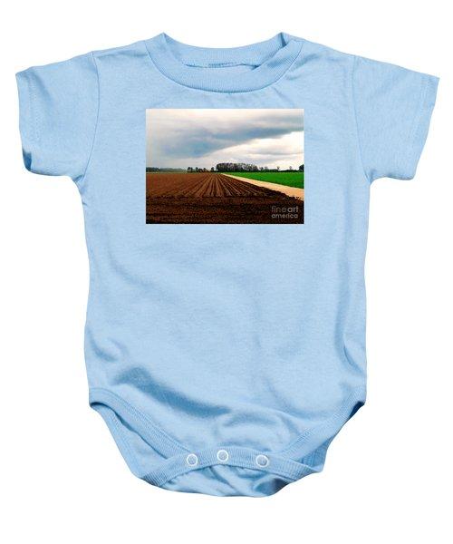Promissing Field Baby Onesie