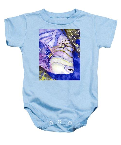 Queen Triggerfish Portrait Baby Onesie