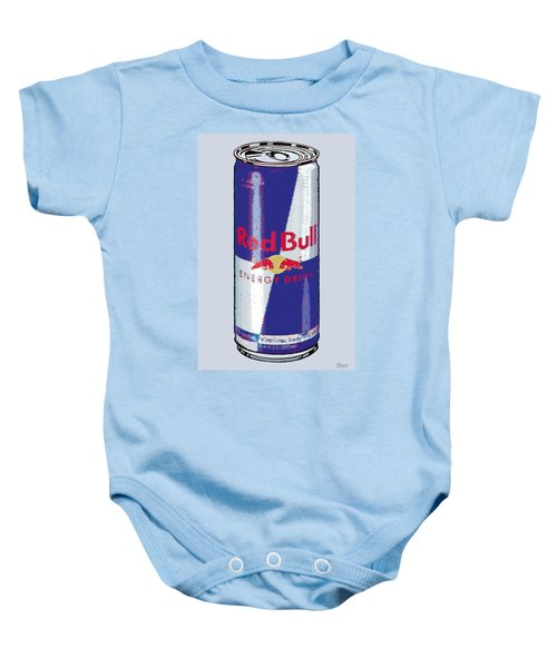 Red Bull Ode To Andy Warhol Baby Onesie